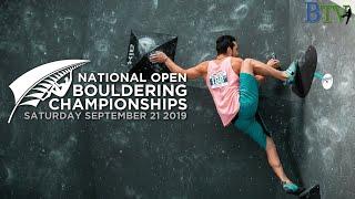 New Zealand Open Boulder Championships 2019 by Bouldering TV