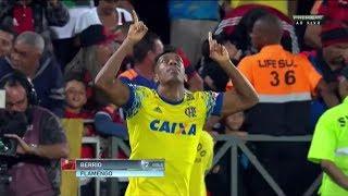 Gol de Berrio Flamengo 1 x 0 Coritiba