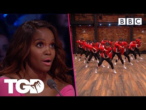 Dark Angels leave Oti Mabuse speechless | The Greatest Dancer | Auditions Week 4