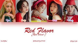 [HAN|ROM|ENG] Red Velvet (레드벨벳) - Red Flavor (빨간 맛) (Color Coded Lyrics)