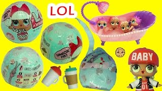 Video LOL Surprise Baby Dolls In Blind Bag - Do They Cry, or Color Change in Water ? MP3, 3GP, MP4, WEBM, AVI, FLV Januari 2019