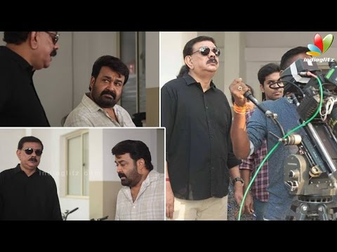 Mohanlal-starts-shooting-for-Priyadarshans-Oppam-Sanchita-Shetty-Vimala-Raman