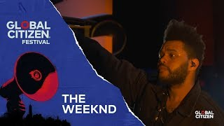 Video The Weeknd Performs Call Out My Name | Global Citizen Festival NYC 2018 MP3, 3GP, MP4, WEBM, AVI, FLV November 2018