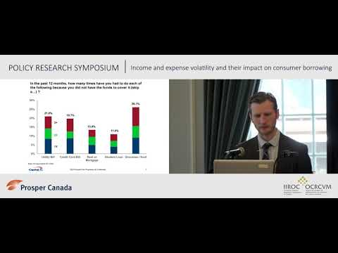 Income and expense volatility and their impact on consumer borrowing