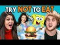 Download Lagu Try Not To Eat Challenge - Nickelodeon Food | People Vs. Food Mp3 Free