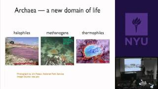 Natural Science II: Genomes And Diversity - Universal Tree Of Life&Ecological Genomics