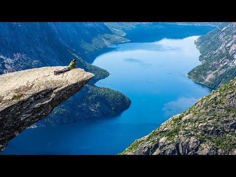 Незабываемое чудо природы. Фьорды Норвегии (видео)