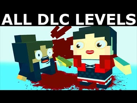 Slayaway Camp - All DLC Levels - Santa's Slay, My Gory Valentine & Hell Camp (No Commentary)