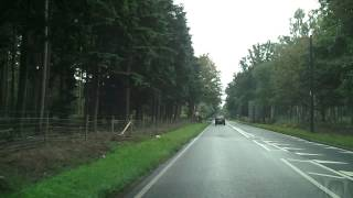 Ascot United Kingdom  city pictures gallery : Driving in the UK - Ascot to Bagshot
