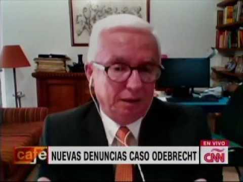 Robledo en CNN sobre dineros de Odebrecht en campañas presidenciales en Colombia