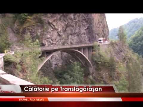 Călătorie pe Transfăgărăşan – VIDEO