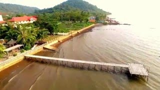 Kep Cambodia  city pictures gallery : Drone Flight Over Crabmarket Kep Cambodia
