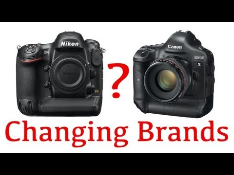 Switching Camera Brands
