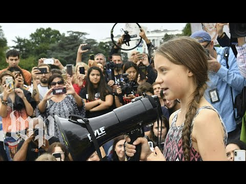 Activist Greta Thunberg on how to make sure the word does not 'give up' the climate fight