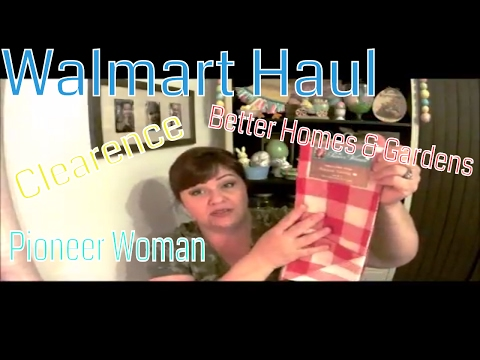 Walmart Haul & Shop with ME! Better Homes & Gardens AND Pioneer Woman!