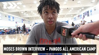 Moses Brown Interview - Pangos All American Camp