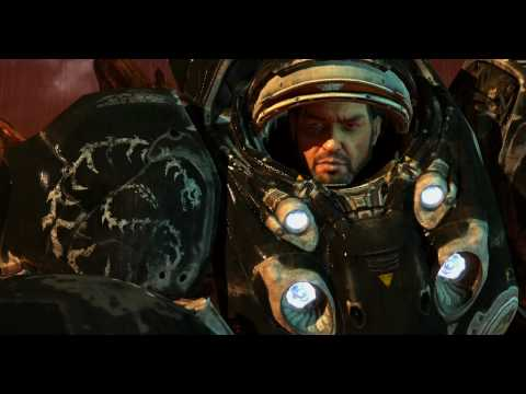 [HD 720] Starcraft 2 - Le sang et la sueur - Cutscene Cinmatique