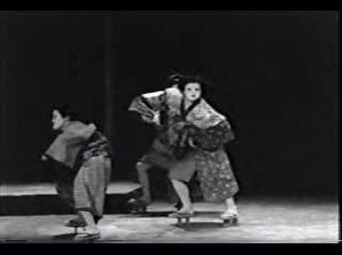Dance - Hosotan Butoh (Tatsumi Hijikata, 1972)