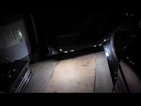 Pontiac Vibe add door courtesy ground lights DIY