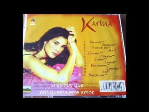 Tekst piosenki Karina - Mío po polsku