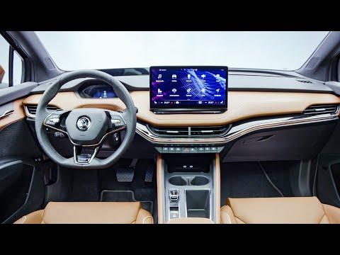 Skoda Enyaq iV - INTERIOR - Affordable Luxury! All-new Electric SUV