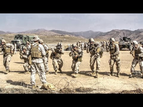 m16 - Marines throw practice and live grenades, fire the M203 grenade launcher, and practice reloading the M4/M16 service rifles. Video by Sgt. Ned Johnson | 1st M...