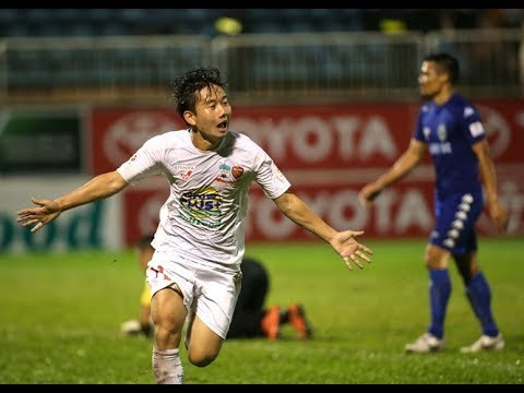 Minh Vương bùng nổ với cú hattrick xé mảnh lưới B. Bình Dương tại V.league 2016 | HAGL FC - Thời lượng: 8:42.