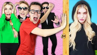 BREAKING INTO RZ TWIN ESCAPE ROOM to Rescue Best Friend! (Game Master Found Surprising Crush)