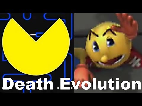 Evolution Of Pacman Death Animations (1980-2018)