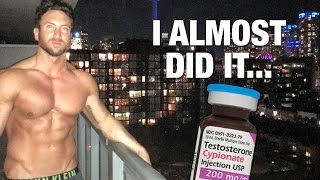 Are you a skinny guy? Get more tips for gaining weight fast:http://www.weightgainblueprint.com/view/yt14hI know I joke with you guys a lot on the topic of steroids, but today I have a very authentic story on something that happened to me recently and I know it will help out a lot of you guys.The last couple months has been really challenging and resulted in some pretty high cortisol levels for me personally! This means that I've been having a tough time making gym progress and as a result I was looking for a short cut.In this video I want to share with you a really authentic story about what caused me to almost take anabolic steroids, and the main reason that I ended up not taking steroids. I have a feeling what was going through my head mentally when I was on the verge of doing something dangerous and illegal might be in line with what has happened to you guys at some point in your life.This fitness stuff is really mental and its easy to lose track of the progress you have made when you compare yourself to others!After my story I want to share a crazy story on how to force muscle growth in your muscles by incorporating 3 elements into each workout!The 3 elements are eccentric overload, lactic acid training, and isometrics!You won't want to miss the end as it is the recipe for pretty much any lagging muscle group!Let me know in the comments what you think of my steroids story, and if its something you have gone through personally!See the full blog post here: http://www.weightgainnetwork.com/how-to-build-muscle/i-almost-took-steroids-how-to-force-muscle-growth.phpThe 7 Hardgainer Mistakes That Are Keeping You Skinny:★ http://www.weightgainblueprint.com/view/yt14hComplete Weight Gain Program:★ http://www.WeightGainBlueprint.com[ GET OUR LATEST VIDEOS ]Click here to subscribe:► http://bit.ly/Subscribe-To-WGNCheck out the rest of the videos:https://www.youtube.com/user/WeightGainNetwork/videos[ FIND US ONLINE ]Website:http://www.WeightGainNetwork.comFacebook:https://web