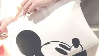 Bolso blanco con diseño de Mickey Mouse - Imitación de cuero