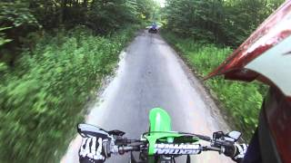 10. 2009 kx250f monster edition, with helmet cam