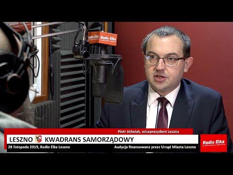 Wideo1: Leszno Kwadrans Samorządowy: Piotr Jóźwiak