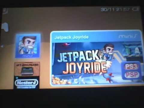 jetpack joyride psp download