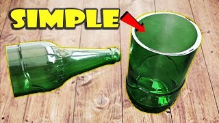 Video how to cut glass bottle at home MP3, 3GP, MP4, WEBM, AVI, FLV Juli 2019