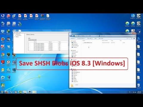 [ Save SHSH Blobs iOS 8.3/8.4 ] Save your SHSH blobs and prepare for downgrade [ Windows ] (видео)