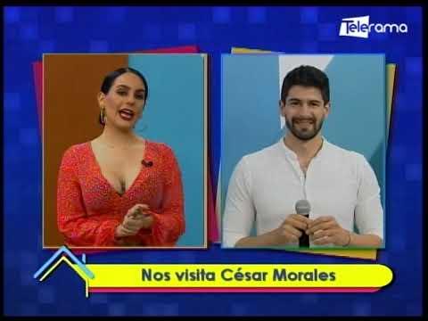 Nos visita César Morales