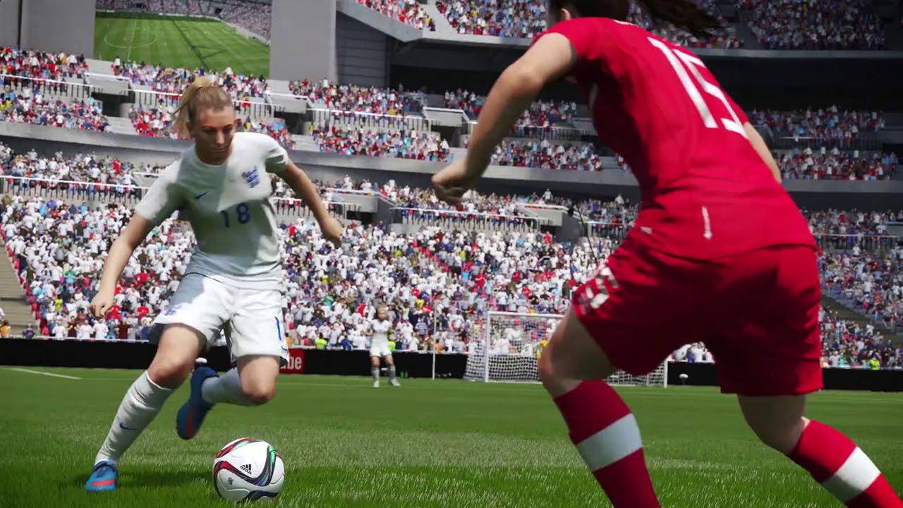 FIFA 16 England Women Trailer #VideoJuegos #Consolas