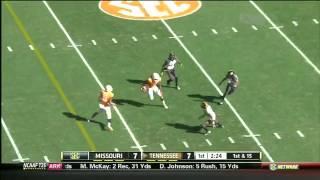 Cordarrelle Patterson vs Florida, Missouri, Vanderbilt, Georgia (2012)