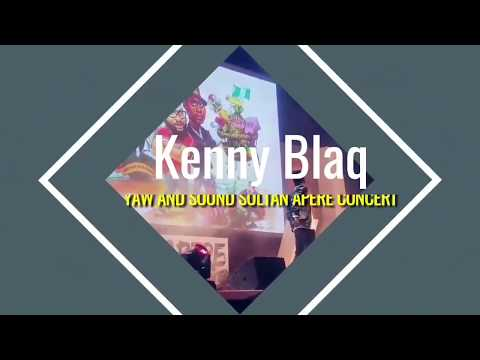 KENNY BLAQ WITH ANOTHER CREATIVE COMEDY PERFORMANCE   APERE CONCERT 2017 (Nigerian Comedy)