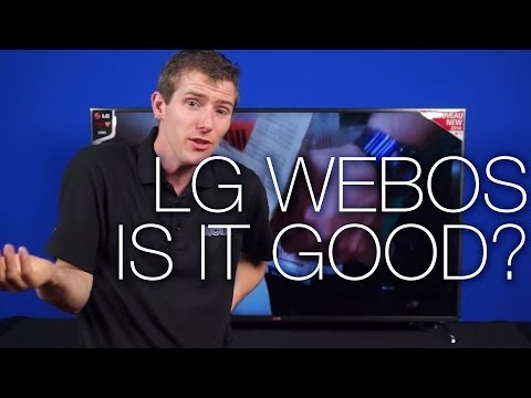 What is LG's WebOS Smart TV System?
