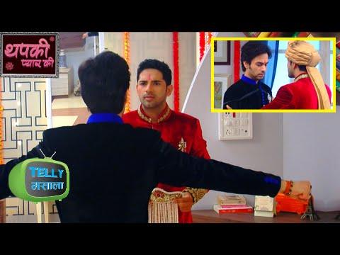 OMG! Dhruv & Bihaan Fight For Thapki On The Weddin