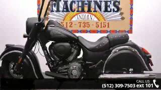 8. 2016 Indian Chief Dark Horse  - Dream Machines Indian Mot...