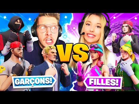 Filles VS Garçons - Quel TEAM est la MEILLEURE ? (50vs50)