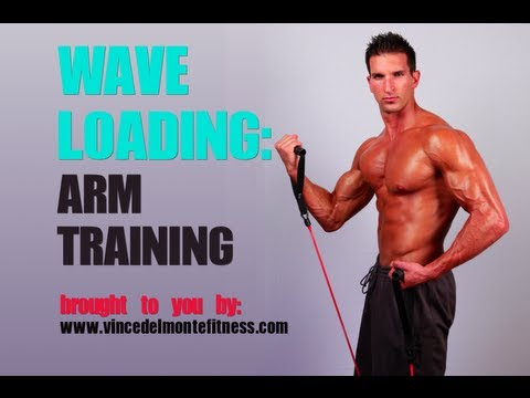 ARM TRAINING With Wave Loading (Muscle Building Program)