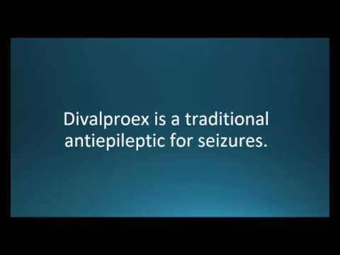 How to pronounce divalproex (Depakote) (Memorizing Pharmacology Flashcard)