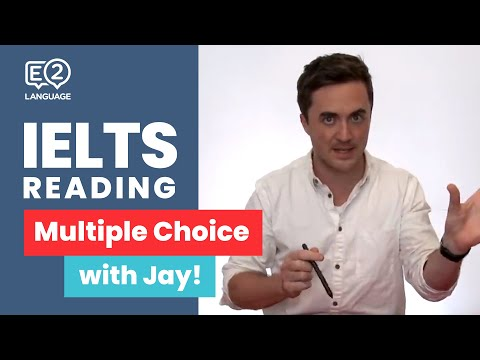 E2 IELTS Reading: Multiple Choice | Super Skills with Jay!