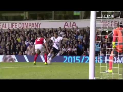 Tottenham Hotspur Vs Arsenal 1-2 ALL Goals And Highlights 2015