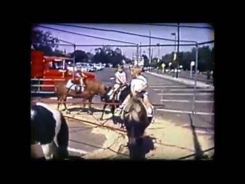 Pony Rides @ Town & Country Village Palo Alto, CA (May, 1965)