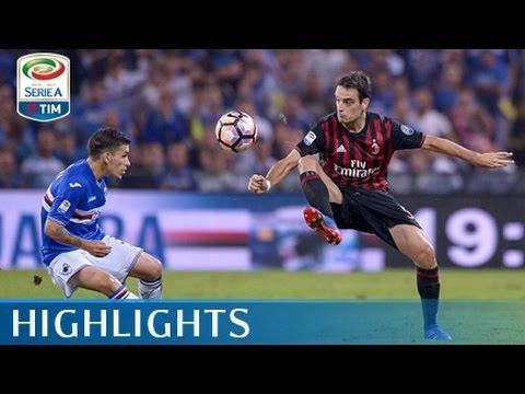 Sampdoria - Milan 0-1 - Highlights - Giornata 4 - Serie A TIM 2016/17